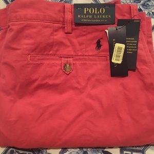 Polo Ralph L. Men's Stretch Classic Fit Shorts 36